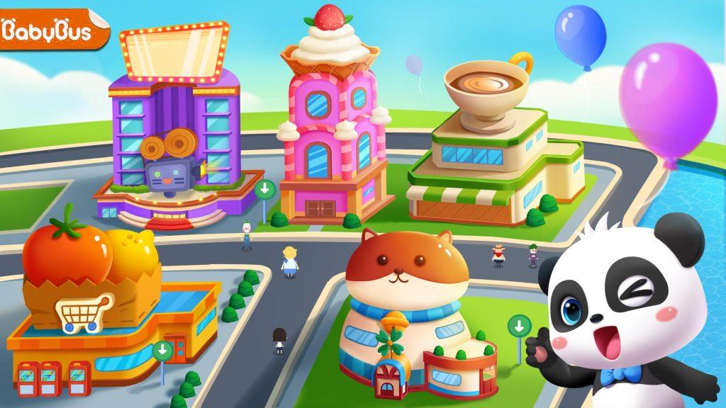 Rumah Bermain Bayi Panda